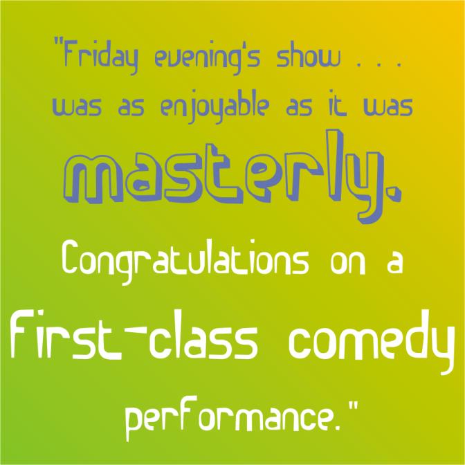 """masterly"""